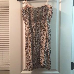BCBGeneration Dresses - BCBG Generation Light Pink Zebra Mini Dress